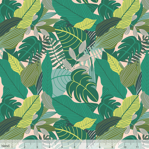 Junglemania, blend fabrics, available from Purple Stitches, Hampshire, UK