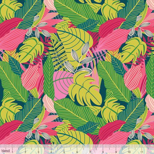 Junglemania, blend fabrics, available from Purple Stitches, Hampshire, UK