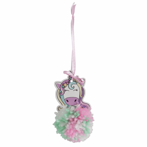 Pom Pom Craft Kit, available from Purple Stitches, hampshire, UK
