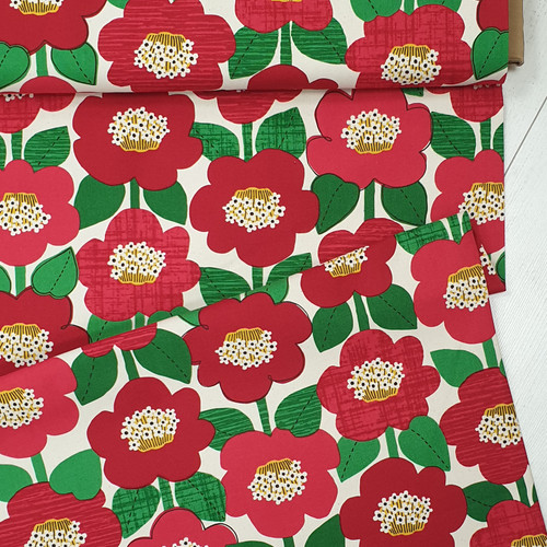 Flower on Canvas, Japanese Canvas, Available from Purple Stitches, Hampshire, UK