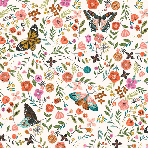 Aviary, Bethan Janine, Dashwood Studio fabrics, available from Purple Stitches, Hampshire, UK