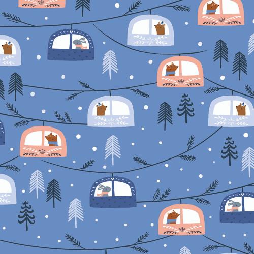 Snow Much Fun, Sarah Knight, Dashwood Studio fabrics, available from Purple Stitches, Hampshire, UK