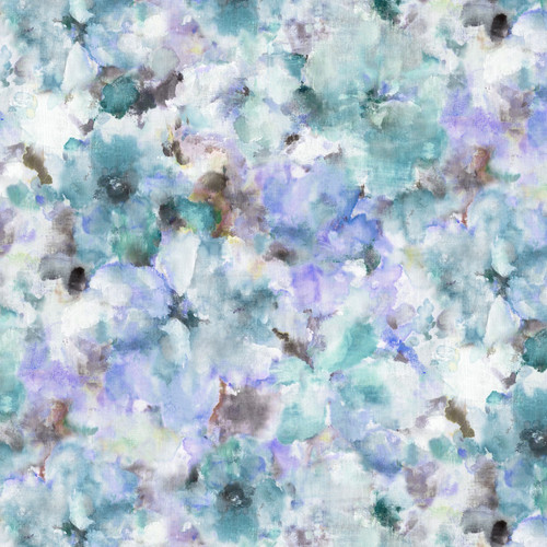 """Blue water colour Wide Back 108"""" Quilt backing by michael miller, available from Purple Stitches, Hampshire, UK"""