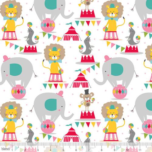 Circus, Piccadilly, Maude Ashbury Blend fabric, Purple Stitches, Hampshire, UK