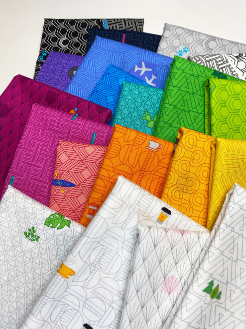 Favorite Things by Shayla wolf of Sassafras Lanes for Windham Fabrics, Available from Purple Stitches, Hampshire, UK