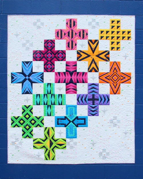 Graphic Jam BOM programme, available from Purple Stitches, Hampshire, UK