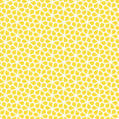 Yellow fabric, available from Purple Stitches, Hampshire, UK