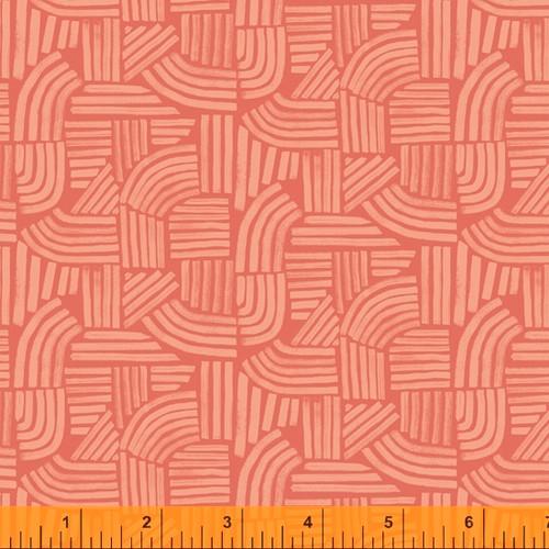 Linea Coral - Wildflower - Kelly Ventura - Windham Fabrics