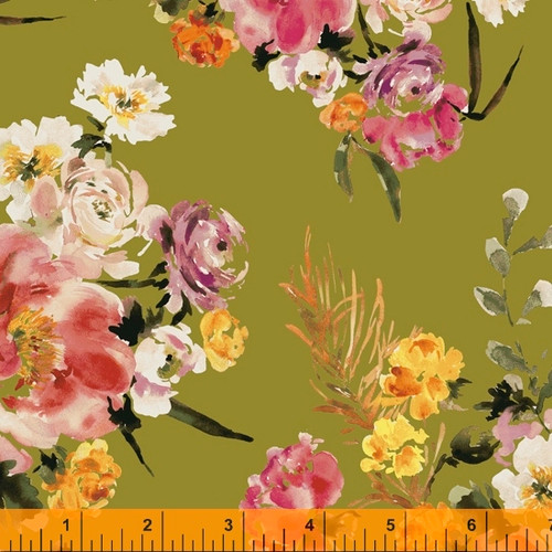 Wildflower by Kelly Ventura, water colour floral prints, available from Purple Stitches, UK