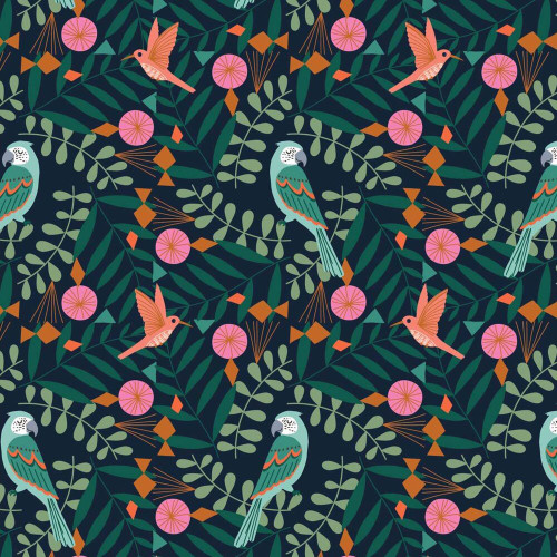 Our Planet, Bethan Janine, Dashwood Studio fabrics, available from Purple Stitches, Hampshire, UK