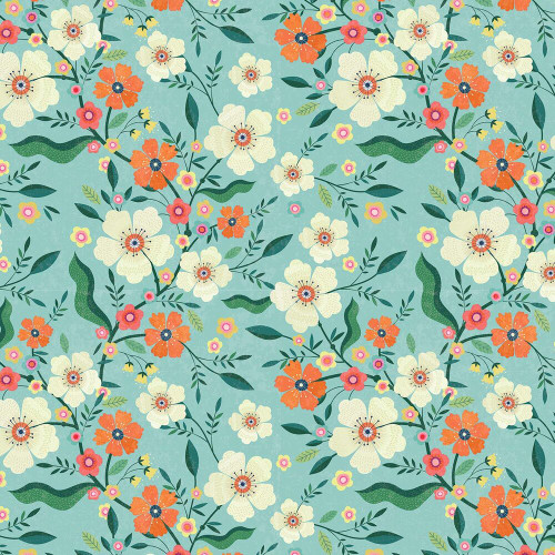 Hedgerow, quilting cotton, dashwood studio, available from Purple Stitches UK