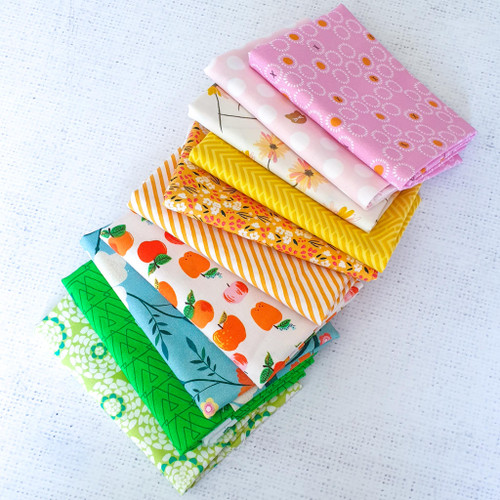 Spring Flair  Bundle in Prints - 10 Fat Quarters