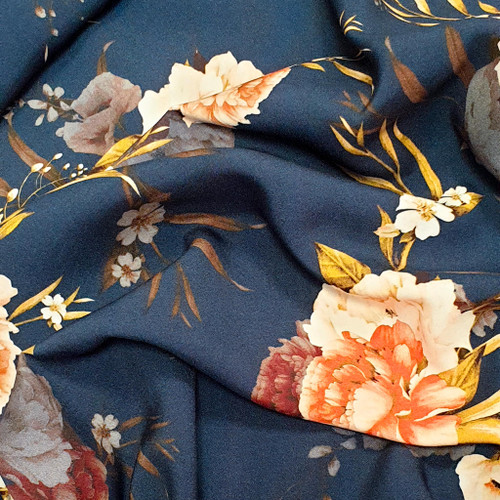 viscose fabric, perfect for lining, dressmaking fabric, Available from Purple Stitches, Hampshire UK