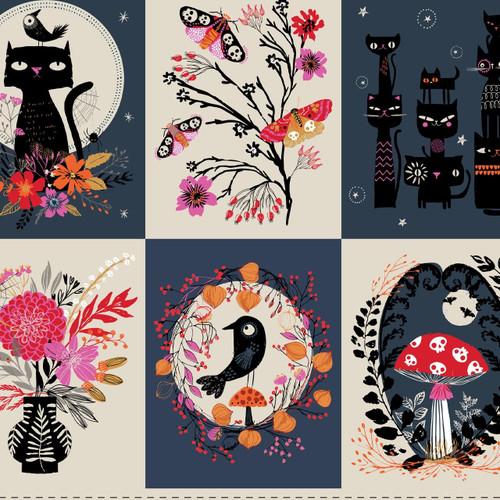 Full Moon Panel - Full Moon - Helen Black - Dashwood Studio