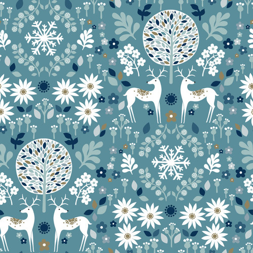 Starlit Hollow, Winter Collections, Christmas Fabric, Dashwood Studio, available from Purple Stitches , Hampshire, UK