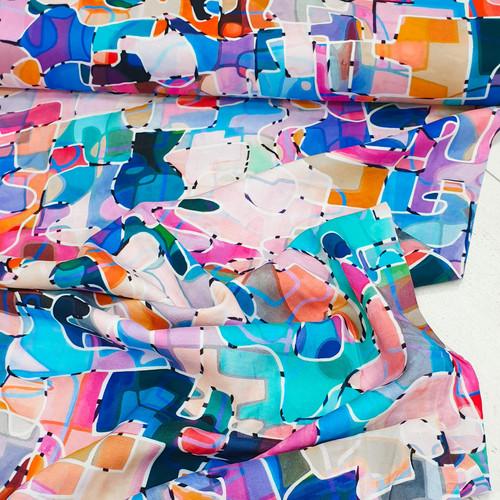 Paint - Circle Line Rayons by Rachel Parker - Dashwood Studio