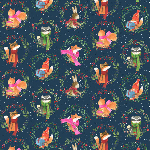 All Spruced Up,  Dear Stella Fabric, available from Purple Stitches, Hampshire, UK