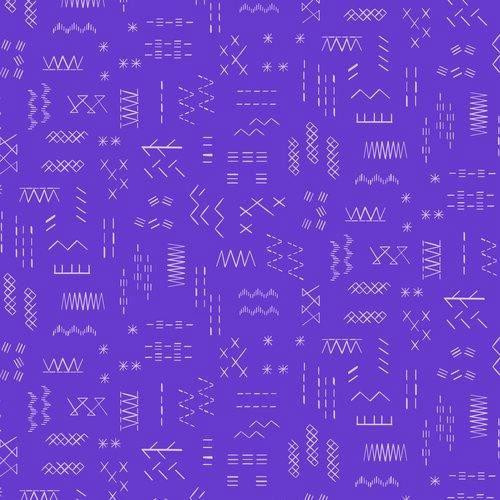 Violet Purple - Great British Quilter , Dashwood Studio, available from purple Stitches, Hampshire UK