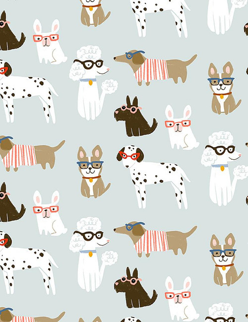 Vanity Fur, Dear Stella Fabric, available from Purple Stitches, Hampshire, UK