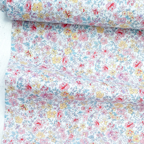 Floral print from Sevenberry, Japanese Fabric, 100% cotton, available from Purple Stitches, Hampshire, uk
