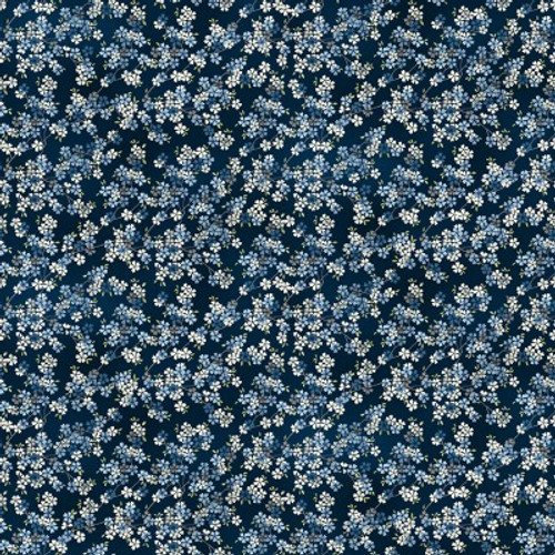 Tranquillity, Modern Japanese fabric by Makower, Available from Purple Stitches, Hampshire UK.