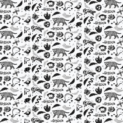 ABC Menagerie,  Dear Stella Fabric, available from Purple Stitches, Hampshire, UK