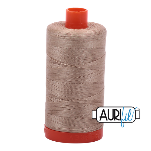 Aurifil Thread 2326 SAND 50wt