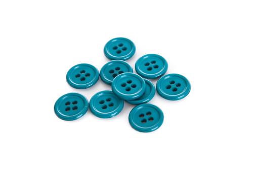 Emerald Shirt Button - 15mm