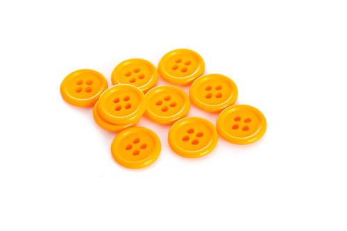 Orange Shirt Button - 15mm