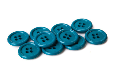 Emerald Shirt Button - 20mm