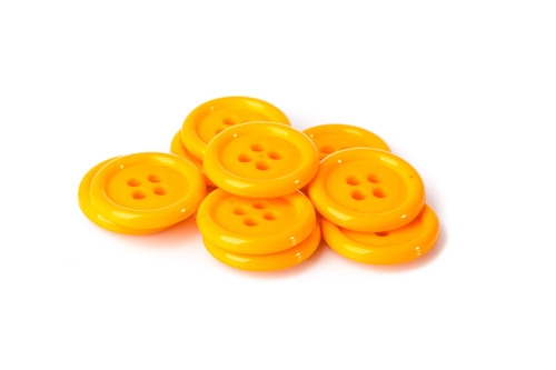 Orange Shirt Button - 20mm