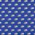 Camper Van Blue - Sevenberry Cotton