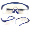 Light weight clear safety glasses.