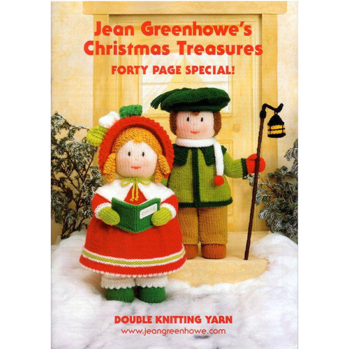 Jean Greenhowe Christmas Treasures front cover.