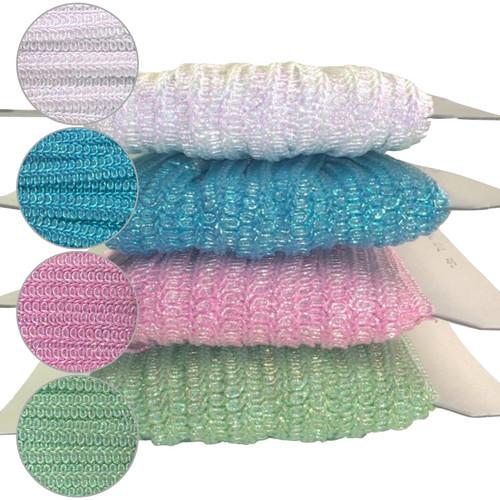 Iris thread 8 loop gimp braid in four pretty colours.