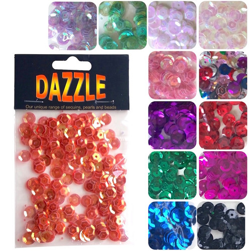 6mm cup sequins in many different colour options.