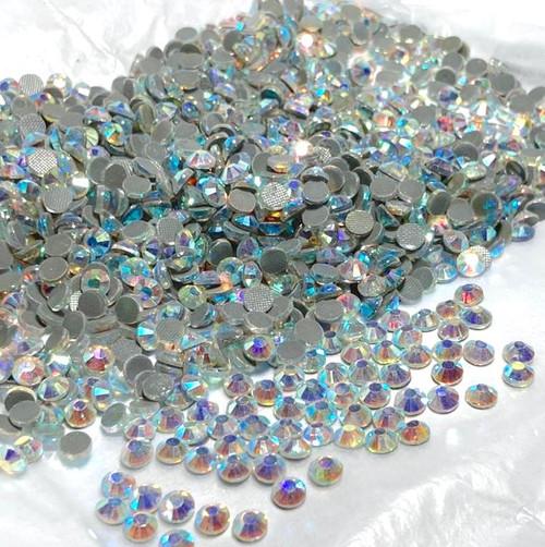 Hotfix Rhinestones 1440pcs Crystal Clear with AB effect.