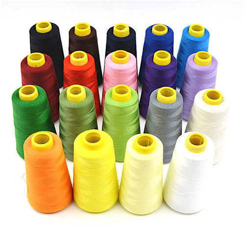 5000 yards of 40/2 sewing thread cones, ideal for overlockers and sewing machines.