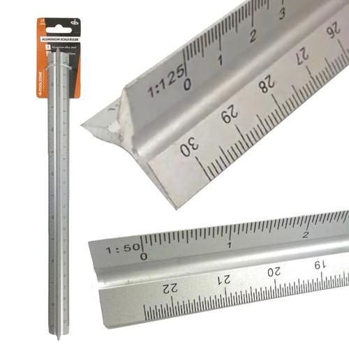 Triangle metal scale ruler
