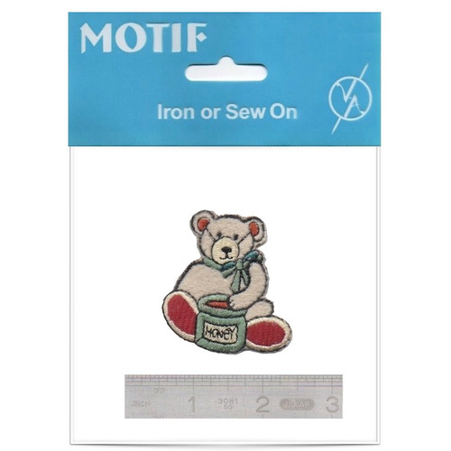 Honey Bear Iron On Motif