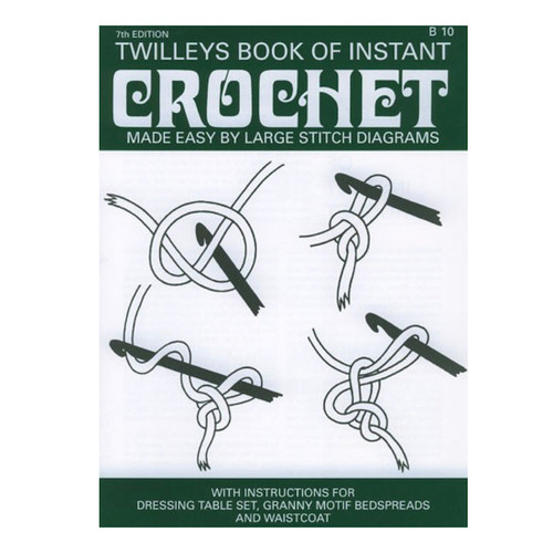 Small booklet teaching you how to crochet which also includes a few easy project patterns.
