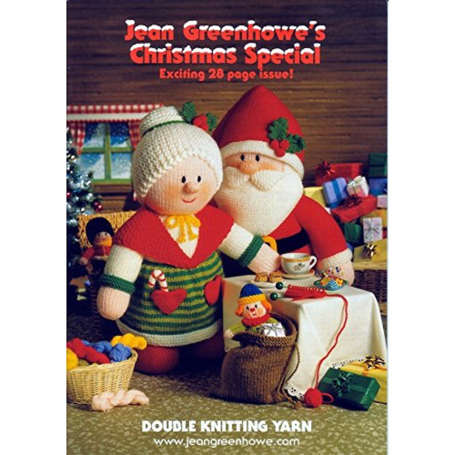 Booklet by Jean Greenhowe showing the Christmas Special designs and projects, includes Santa & Mrs Claus.