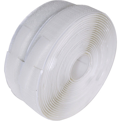 White hook and loop tape commonly known as Velcro. Each side 50mm wide.