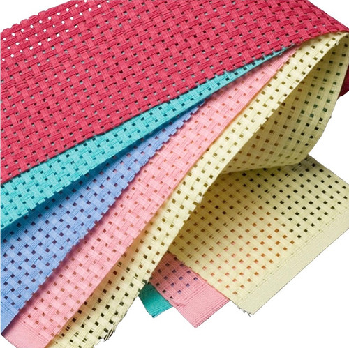Binca six hole per inch canvas for teaching needlepoint and embroidery.