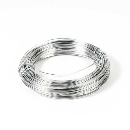 Silver colour modelling wire on 500g reel. 1mm and 1.25mm thickness available.