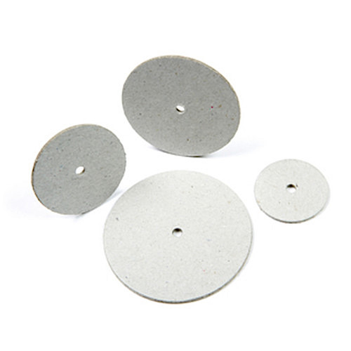 Cardboard discs in four sizes.