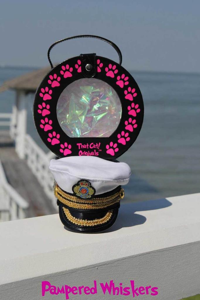 cat captain hat