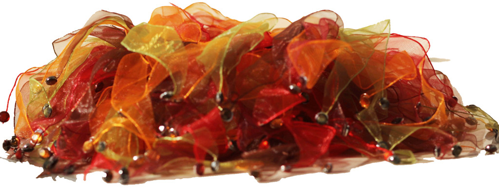 Fall colors Dog Party Collar