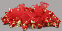red rose party collar