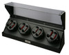 Watch Winders | Diplomat Gothica Eight Watch Winder (Black Wood)